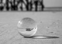 20070 SPO Glaskugel Silber...